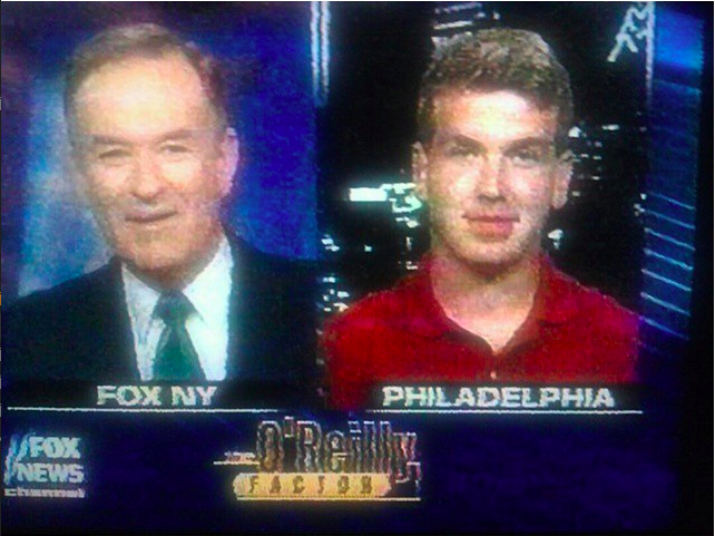 Bill O'Reilly and me